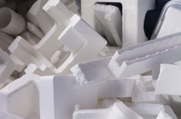 Полистирин отходы белые