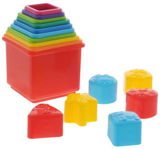 Цветные отходы пластика