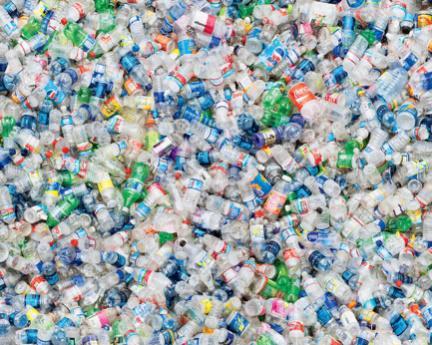 Использованный пластик