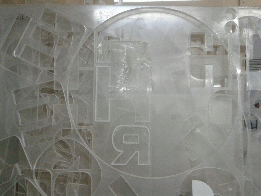 Оргстекло прозрачное отходы