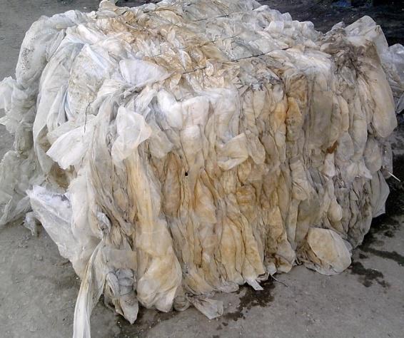 ПВД отходы прозрачные загрязненные