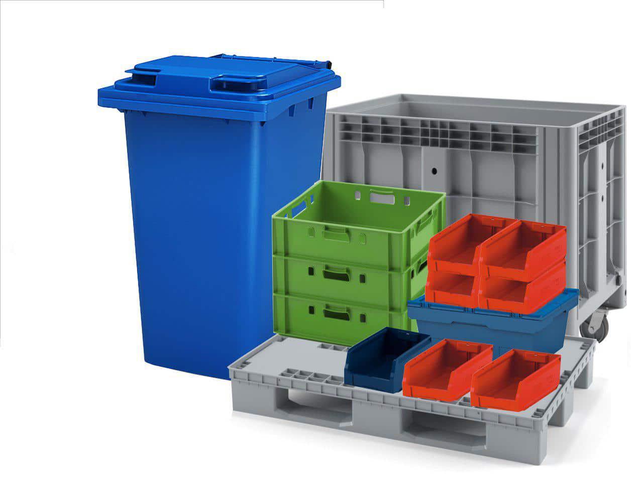 Тара отходы пластика
