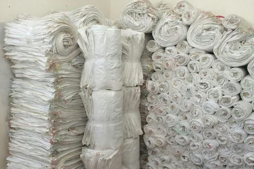 Полипропиленовые мешки отходы