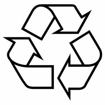 Знак рециклинг