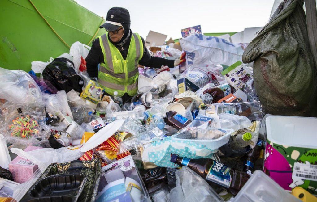 Сбор пластика