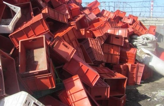 Отходы ПНД ящиков