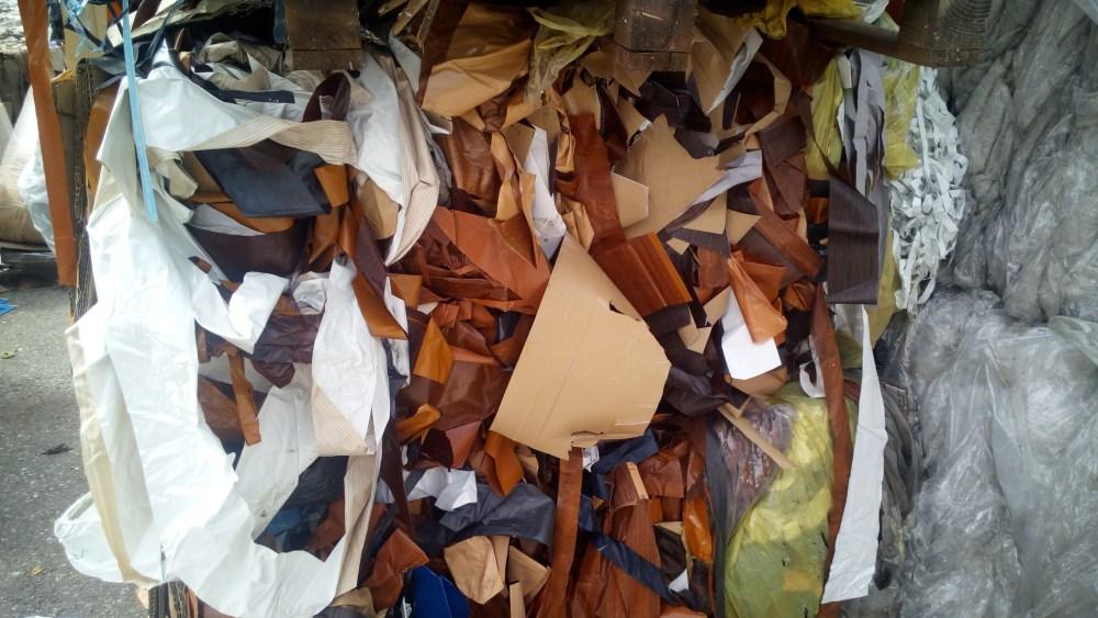 Отходы мебельного ПВХ